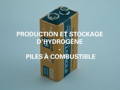Pile et stockage d'hydogène piles a combustible